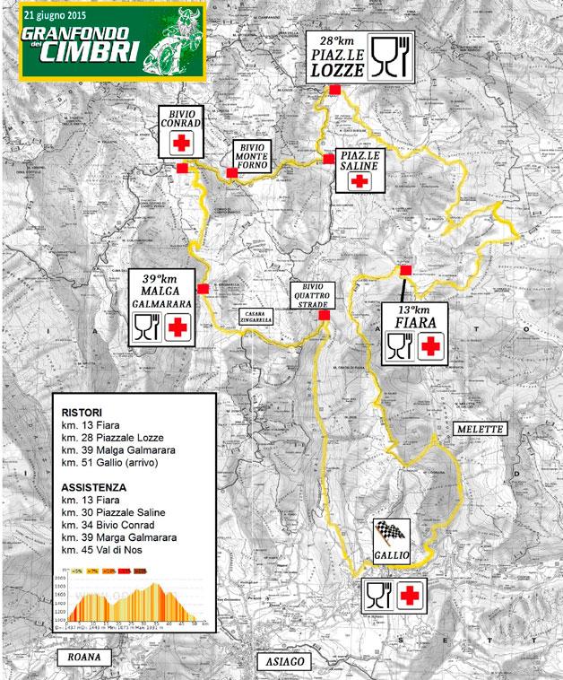 16a granfondo dei cimbri gara di mountain bike mtb for Asiago dove dormire