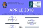 """Aperture e attività del mese di aprile 2018 del Museo Naturalistico Didattico """"Patrizio Rigoni"""" di Asiago"""
