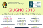 """Öffnungen und Aktivitäten von Juni 2018 der didaktischen Naturmuseum """"Patrizio Rigoni"""" di Asiago"""