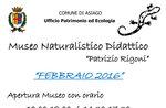 """Natur-Museum, die Eröffnung von """"Patrizio Rigoni,"""" Asiago, 28. Februar 2016"""