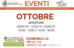 """Eröffnungen und Aktivitäten des Monats Oktober 2019 des Naturalistischen Bildungsmuseums """"Patrizio Rigoni"""" von Asiago"""