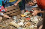 Besuch geschützt D, archäologische Stätte, Hochebene von Asiago, 24. Juli 2016