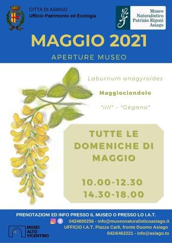 museo naturalistico asiago maggio 2021