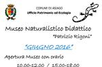 Apertura Museo Didattico Patrizio Rigoni 26 giugno 2016, Altopiano di Asiago