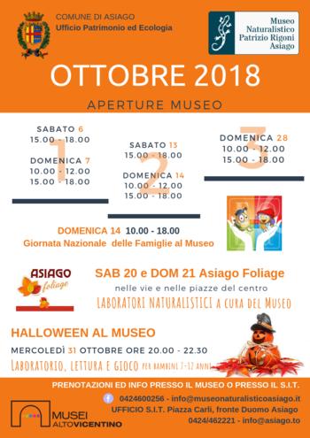 ottobre 2018 al museo naturalistico di asiago n1