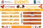 Programma Museo Naturalistico Patrizio Rigoni di Asiago ottobre novembre 2021