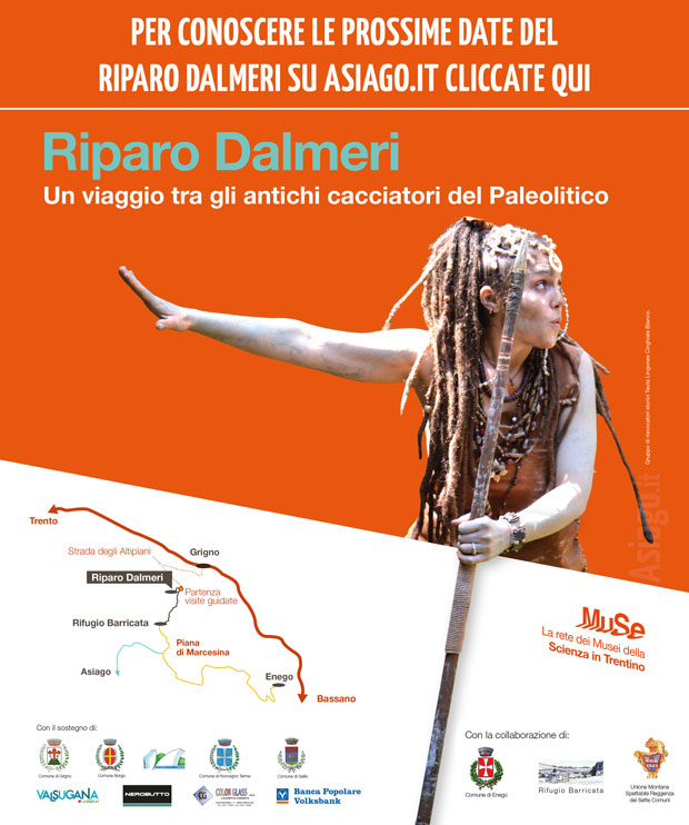 Eventi Riparo Dalmeri estate 2016