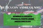 "Musikabend mit ""Andrea & Noel"" im Fort Lisser - 14. August 2020"