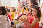 Kinder Musical-emotionalen Labor in Treschè Becken von Roana, 10. August 2017