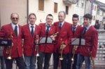 Sommer merkt Concert Band A. Rai in Lusiana, Altopiano di Asiago