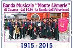 Band-Konzert-Lèmerle zu mounten Strong Corbin, Altopiano di Asiago
