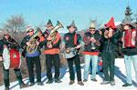 BI-Folk Weihnachten 21. Dezember 2014 in Asiago, Sonntag Band