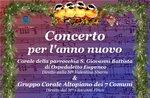 Klavierchoral und San Lorenzo Chorale in Camporovere - 4. Januar 2020