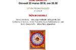 "Concert ""the invisible REVEALED"" with the Inunum Ensemble in Asiago-22 March 2018"