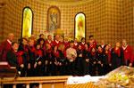 Konzert der CHORAL GROUP 7 Gemeinden PLATEAU Canove, 18. August 2014