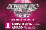 La Febbre del sabato sera, remember anni 70-80 ad Asiago il 6 agosto 2016