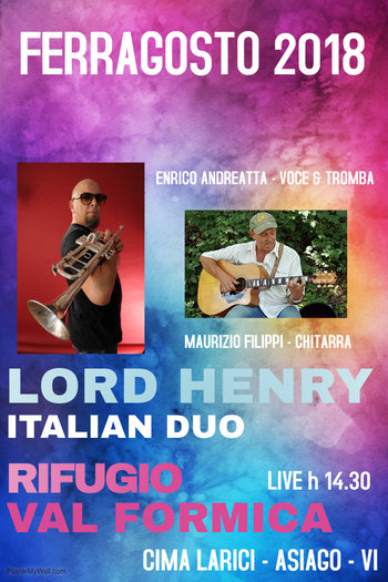 Lord Henry italian duo  a Val Formica