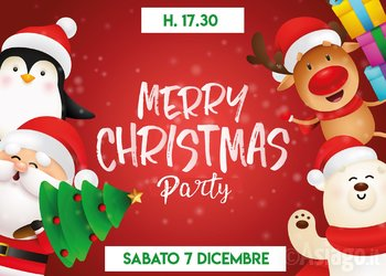 Merry Christmas Party a Gallio