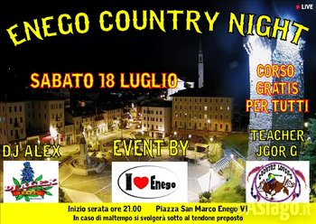 musica country ad enego