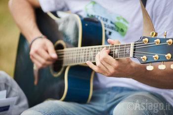 suonatore di chitarra