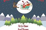 Santa kommt in Roana, 24. Dezember 2015