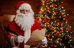 Heiligabend im Haus vom Weihnachtsmann in Asiago, 24. Dezember 2016