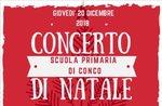 Concerto di Natale delle scuole elementari a Conco - 20 dicembre 2018