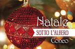 Santa kommt in Fontanelle Conco, 24. Dezember 2015