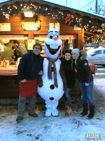 Olaf Dal Mondo Di Frozen Ai Giardini Di Natale Di Asiago Il 27