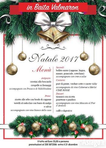Menu Di Natale In Casa.Pranzo Di Natale 2017 In Baita Val Maron Enego 25