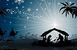 Blick auf die 100 Krippen zu Rotzo aus Donnerstag, 25. Dezember 2014