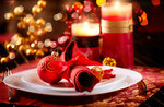 Weihnachtsessen im Restaurant La Lepre Bianca Gallio 2017-25 Dezember 2017