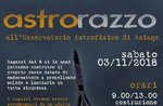ASTRORAZZO-Workshop für Kinder an der Asiago Astrophysical Observatory-3 November 2018