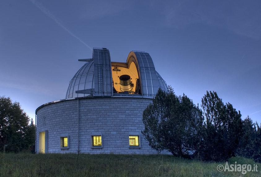 Evento speciale all 39 osservatorio di asiago tre for Asiago dove dormire