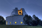 Die farbigen Sternen, astronomische Observatorium von Asiago, 18. August 2016
