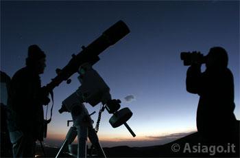 Visita al telescopio Copernico di Asiago