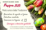 Pranzo di Pasqua 2020 a domicilio del Ristorante Belvedere di Cesuna