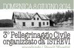 3º Pellegrinaggio Civile ricordando i Piccoli Maestri con C. Presotto, 8 giugno