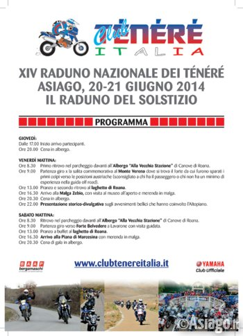 XIV Raduno Nazionale Club Ténéré Italia