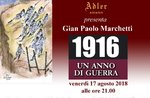 """Presentazione del libro """"1916, un anno di guerra"""" - Gran Caffè Adler, Venerdi 18 agosto"""