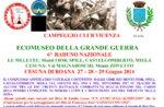 6º Raduno Nazionale Ecomuseo della Grande Guerra, a Cesuna dal 27 al 29 giugno