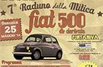 7. Treffen der Fabel FIAT 500 mit Ankunft in Enego, Hochebene von Asiago - 25/05