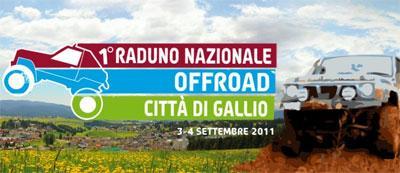 Primo raduno nazionale offroad Città di Gallio Settembre 2011