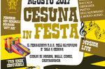 Cesuna Festival-traditionelles fest im Sommer auf der Asiago Hochebene-11-15 August 2017