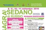 Sagra del Sedano di Rubbio, 8-11 settembre 2016, Altopiano di Asiago