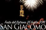 SAGRA DI SAN GIACOMO, Festa del Santo Patrono, Lusiana, 25 luglio 2016