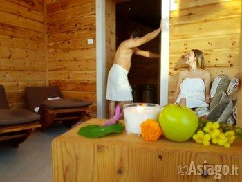 Promozione benessere natale io e te nella spa natura del for Spa ad asiago