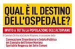 WAS IST DER DESTINO DER OSPEDALE - Öffentliche Sitzung zur Zukunft des Asiago-Krankenhauses - 13. Juli 2020