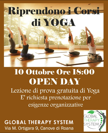 Pen Day Corsi Yoga Global Therapy System 2019