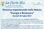 "Experimentelle Pfad ""Energie und"" Wellness""Rifugio Campolongo-Juli 20, 2017"